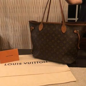 ⭐️ 100% AUTHHENTIC LOUIS VOUITTON NEVERFULL ⭐️